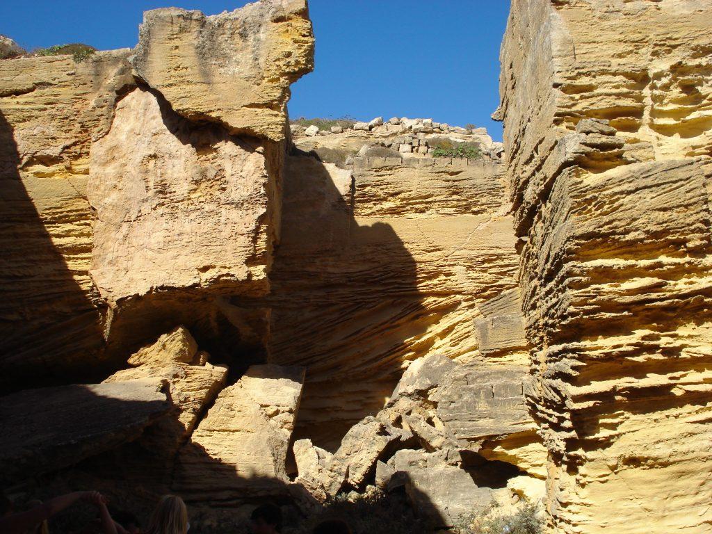 tuff caves